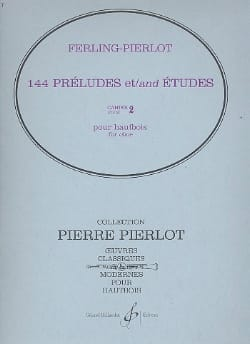 Ferling Franz W. / Pierlot Pierre - 144 Preludes and Studies - Booklet 2 - Sheet Music - di-arezzo.co.uk