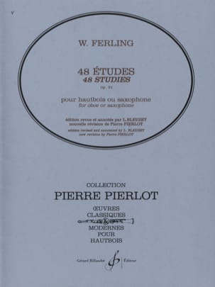 Franz W. Ferling - 48 Studi, Opus 31 - Partitura - di-arezzo.it