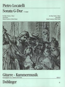 Sonata G-Dur - Flöte Violine, Oboe Gitarre - laflutedepan.com