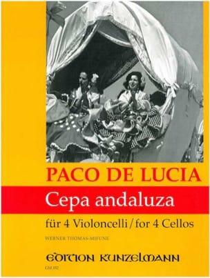 Cepa andaluza - Paco de Lucia - Partition - laflutedepan.com