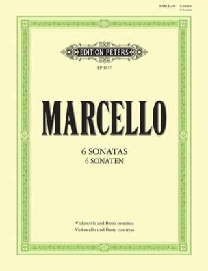 Benedetto Marcello - 6 Sonaten - Partition - di-arezzo.fr