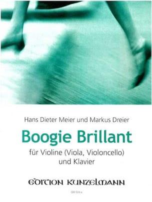 Meier Hans Dieter / Dreier Markus - Boogie Brillant - Partition - di-arezzo.fr