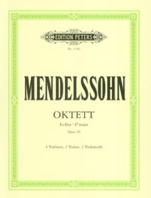 MENDELSSOHN - Octet in Es-Dur op. 20 - Stimmen - Sheet Music - di-arezzo.co.uk