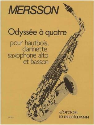 Boris Mersson - Odyssée à quarte op. 40 - Partition - di-arezzo.fr