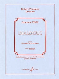 Graciane Finzi - Dialogue - Partition - di-arezzo.fr