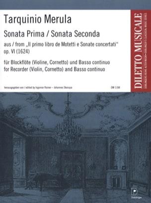 Tarquinio Merula - Sonata Prima / Sonata Seconda - Sheet Music - di-arezzo.com