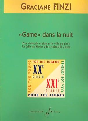 Game dans la nuit - Graciane Finzi - Partition - laflutedepan.com