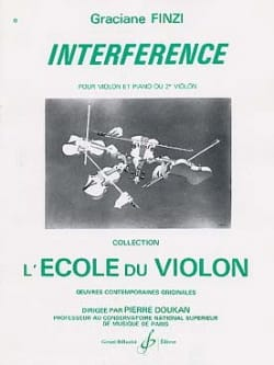 Interférence Graciane Finzi Partition Violon - laflutedepan