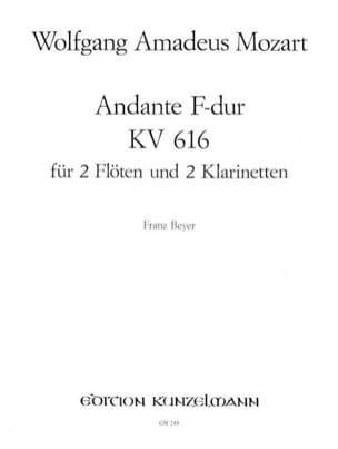 Andante F-Dur KV 616 -2 Flöten 2 Klarinetten - laflutedepan.com