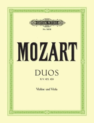 MOZART - Duos KV 423, 424 - Sheet Music - di-arezzo.co.uk