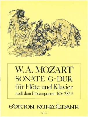 Sonate G-Dur (nach Flötenquartett KV 285a) – Flöte Klavier - laflutedepan.com