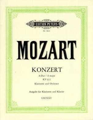 MOZART - Konzert A-dur KV 622 - A-Klarinette Klavier - Partition - di-arezzo.fr