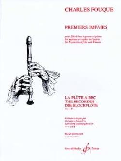 Premiers impairs Charles Fouque Partition Flûte à bec - laflutedepan