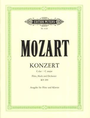 MOZART - Konzert für Flöte u. Harfe C-Dur KV 299 - Flöte Klavier - Partition - di-arezzo.fr