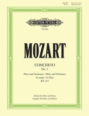 MOZART - Konzert G-Dur KV 313 – Flöte Klavier - Partition - di-arezzo.fr