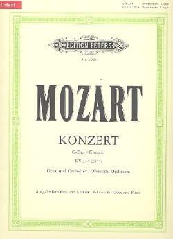 MOZART - Konzert D-Dur for Oboe KV 314 - Oboe Klavier - Sheet Music - di-arezzo.com
