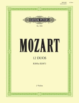 MOZART - 12 Duos KV 496a KV 487 - Sheet Music - di-arezzo.co.uk