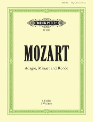 MOZART - Adagio, Menuet and Rondo - Sheet Music - di-arezzo.com