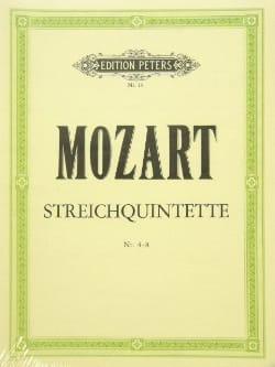 Streichquintette - Bd. 1 : Nr. 4-8 -Stimmen MOZART laflutedepan