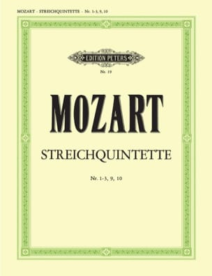 Streichquintette - Bd. 2 : Nr. 1-3, 9-10 - Stimmen laflutedepan