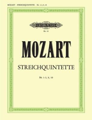 MOZART - Streichquintette - Bd. 2: Nr. 1-3, 9-10 - Stimmen - Sheet Music - di-arezzo.co.uk