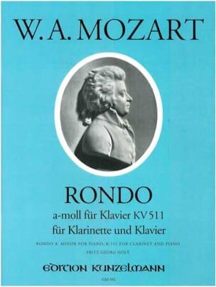 Rondo a-moll KV 511 – Klarinette Klavier - laflutedepan.com