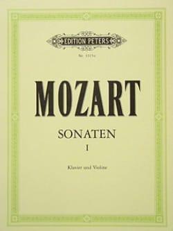 Sonates, Volume 1 - MOZART - Partition - Violon - laflutedepan.com