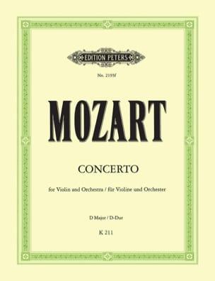 Violin-Konzert in D-dur KV 211 - MOZART - laflutedepan.com
