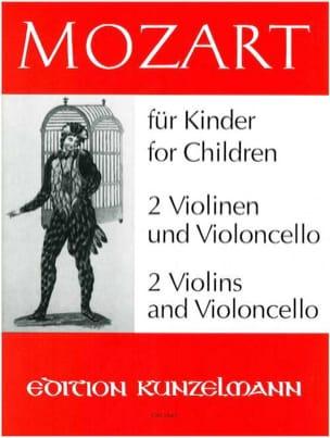 Mozart für Kinder A. Opern - MOZART - Partition - laflutedepan.com