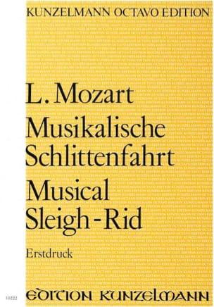 Musikalische Schlittenfahrt - Partitur Leopold Mozart laflutedepan