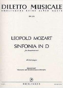 Leopold Mozart - Sinfonia D-Dur – Stimmenset - Matériel complet - Partition - di-arezzo.fr