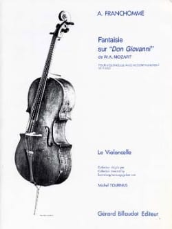 Auguste Franchomme - Fancy on Don Giovanni by WA Mozart - Sheet Music - di-arezzo.co.uk