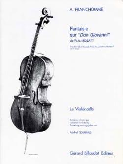 Auguste Franchomme - Fantaisie sur Don Giovanni de W.A. Mozart - Partition - di-arezzo.fr