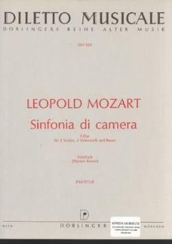 Sinfonia di camera F-Dur - Partitur Leopold Mozart laflutedepan