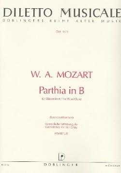 Wolfgang Amadeus Mozart - Parthia B-Dur KV 361 - Bläseroktett – Partitur - Partition - di-arezzo.fr