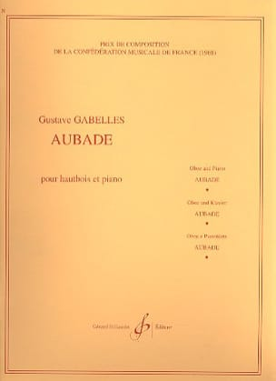 Gustave Gabelles - Aubade - Partition - di-arezzo.fr
