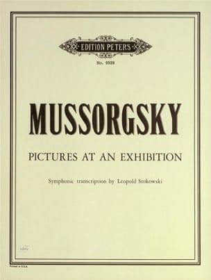 Modeste Moussorgski - Pictures at an exhibitions (Stokowski) – Score - Partition - di-arezzo.fr
