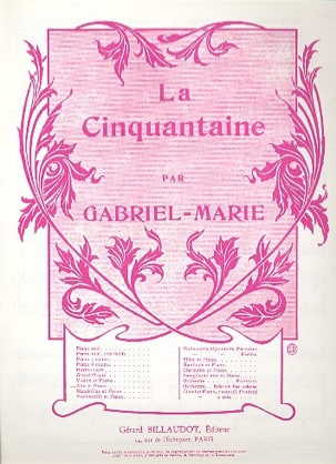 Gabriel-Marie - The Fifty - Alto - Sheet Music - di-arezzo.co.uk
