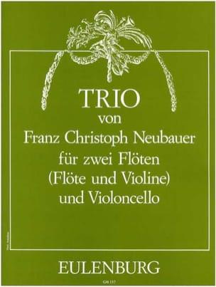 Franz Christoph Neubauer - Trio – 2 Flöten Violoncello - Partition - di-arezzo.fr