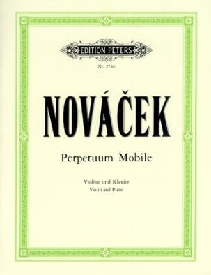 Ottokar Novacek - Perpetuum mobile - Partition - di-arezzo.fr