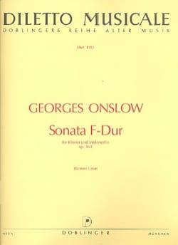 Sonate fa majeur op.16 n° 1 - Georges Onslow - laflutedepan.com