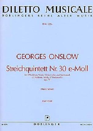 Streichquintett Nr. 30 e-Moll op. 74 - laflutedepan.com