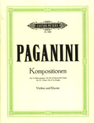 Niccolò Paganini - Kompositionen op. 11, 10, 13, 8 - Sheet Music - di-arezzo.co.uk