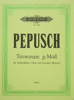 Triosonate g-moll –Altblockflöte Oboe Cembalo - laflutedepan.com