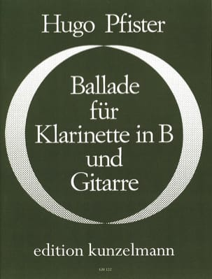 Ballade für Klarinette in B u. Gitarre - laflutedepan.com