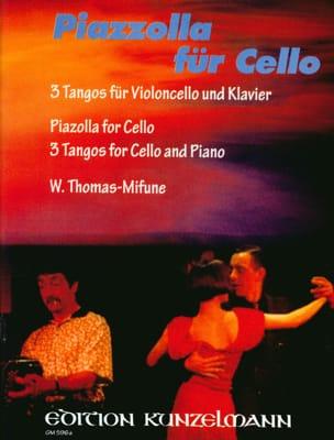 Astor Piazzolla - Piazzolla für Cello - Partition - di-arezzo.fr