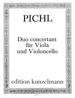 Vaclav Pichl - Duo concertant für Viola und Violoncello - Partition - di-arezzo.fr
