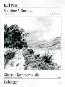 Karl Pilss - Sonatine A-Dur - Oboe u. Gitarre - Partition - di-arezzo.fr