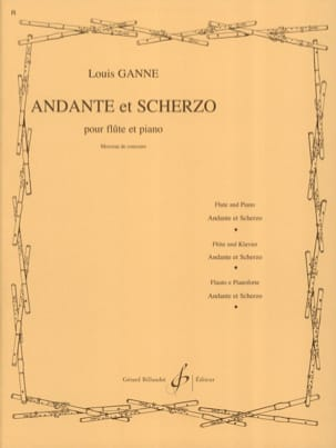Louis Ganne - Andante and Scherzo - Sheet Music - di-arezzo.com