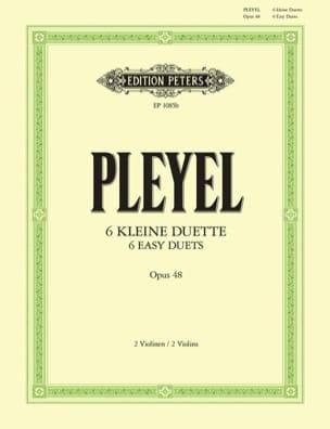 Ignaz Pleyel - 6 Duos op. 48 - Sheet Music - di-arezzo.co.uk